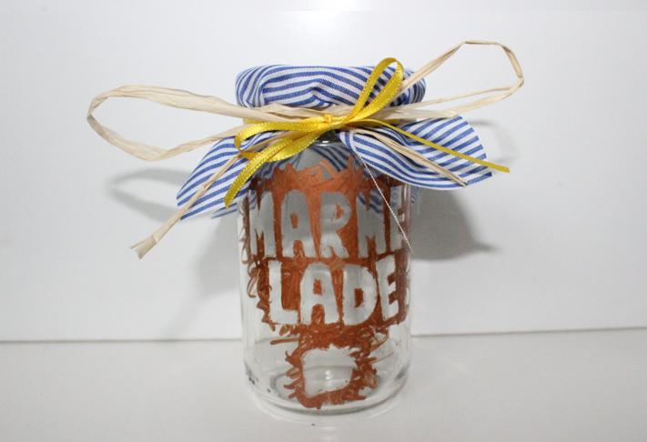 hand-im-glueck.de Hand im Glück DIY Upcycling Marmeladenglas
