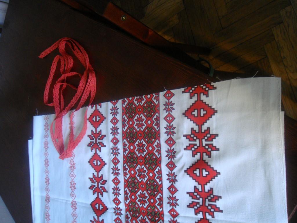 tradionelle rumänische Tischdecke selbst gemacht (2)