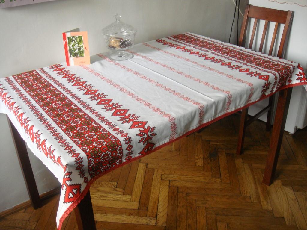 tradionelle rumänische Tischdecke selbst gemacht (6)