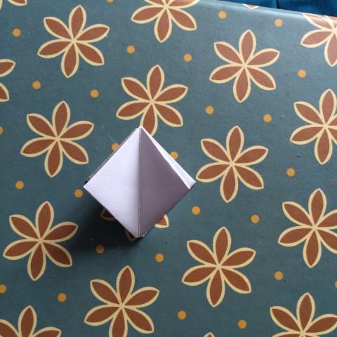 Origami Tulpe falten (6)