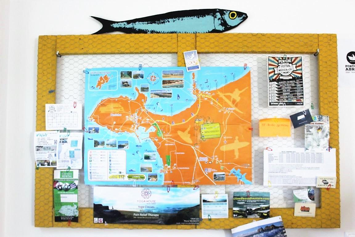 Pinnwand Brainstormingboard selbstgemacht aus Hasenzaun im Industrialstyle
