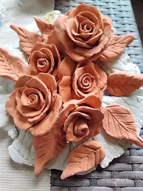 Rosen aus Ton DIY