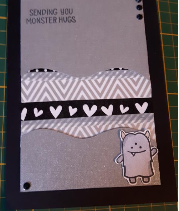 Washi Tape Karte selbermachen