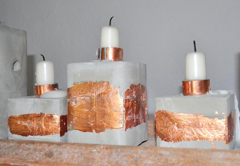 DIY_Kerzenständer_Deluxe_aus_Beton_und Kupfer_Anleitung_Hand-im-Glueck