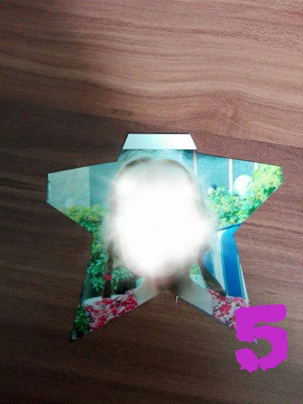 Geburtstag_Einladungskarten_Sternstab_für_Mädchen_Schritt_für_Schritt_Anleitung_Kinderbilder_sternförmig_ausschneiden_Hand_im_Glueck