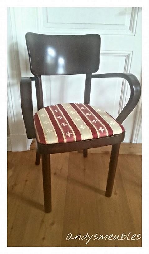 Stühle neu polstern und lackieren