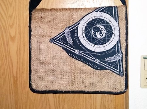 DIY Messenger Bag aus LKW Plane & Jute