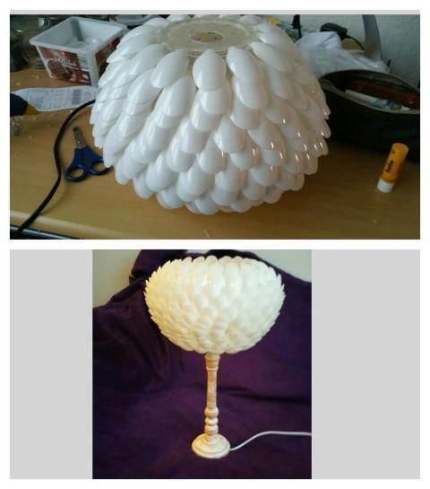 Löffellampe selbst gemacht Hand im Glück (5) (Small)