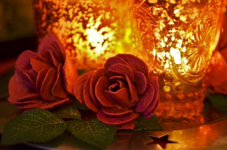 rosen aus eierkarton hand im gl ck mein do it yourself. Black Bedroom Furniture Sets. Home Design Ideas