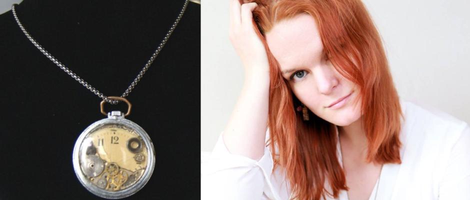 Uhr als Kette selbst gemacht von Verena von SombreroCrafts