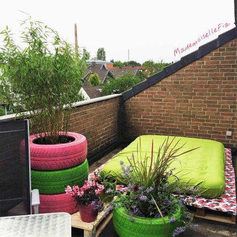 Urlaub auf Balkonien Teil 2 Deko für den Balkon (Small)