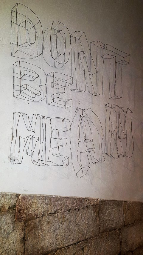 3d Buchstaben Aus Draht Als Wandgestaltung Hand Im Glück Mein Do
