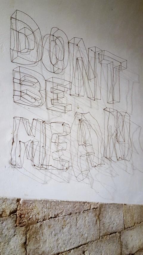 3D Buchstaben aus Draht als Wandgestaltung (2) (Small)