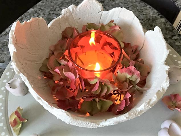 herbst licht aus beton | hand im glück: diyne community, Hause und Garten