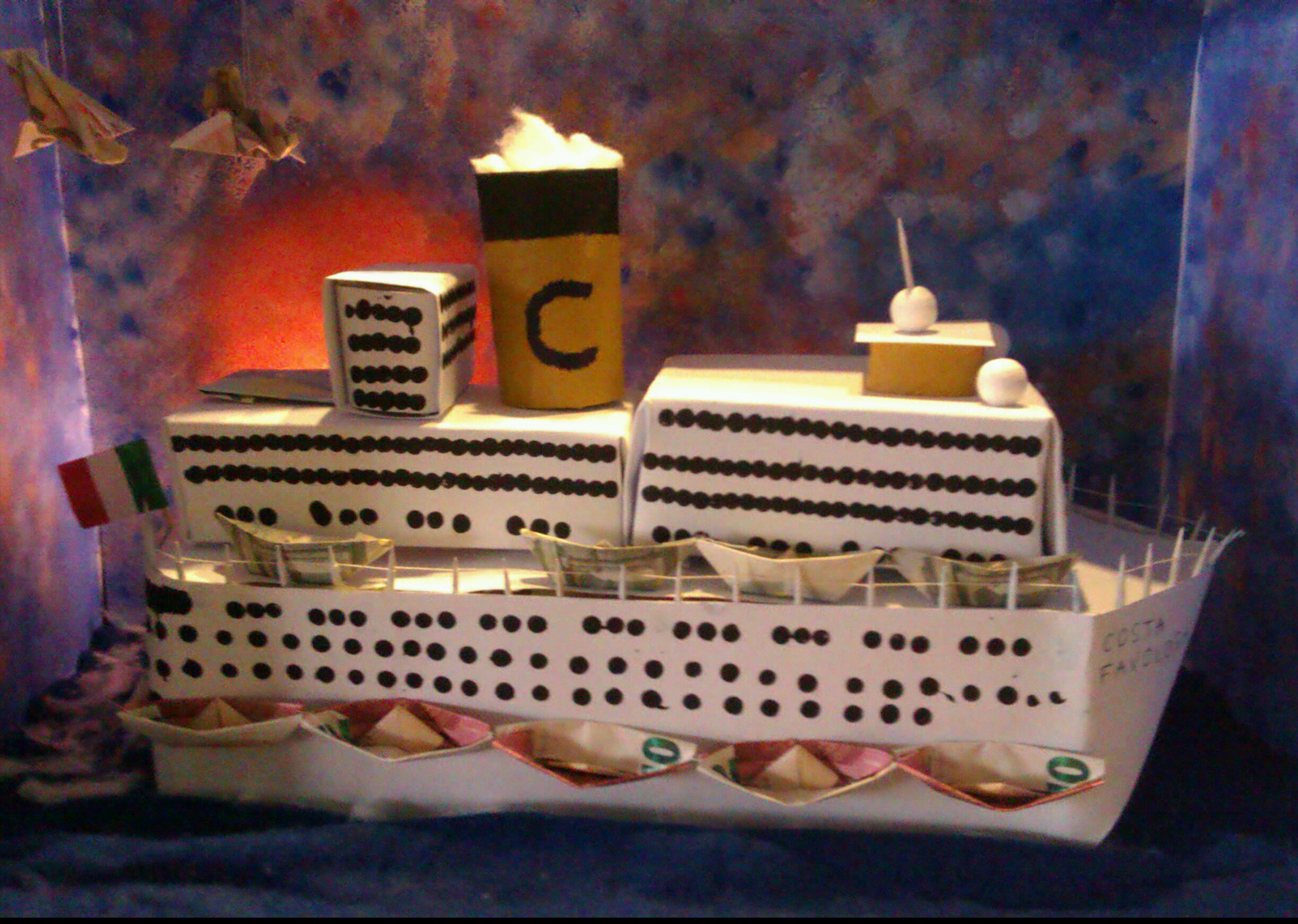 Traumschiff basteln