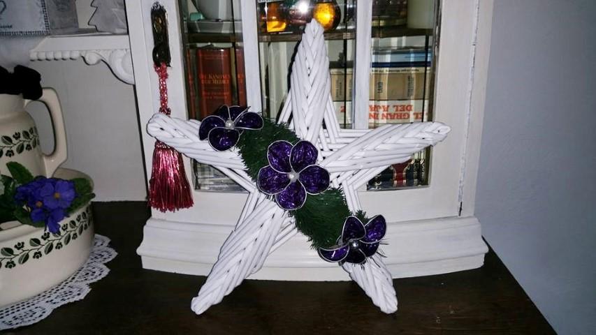 Stern aus Papierröllchen selber machen (Small)