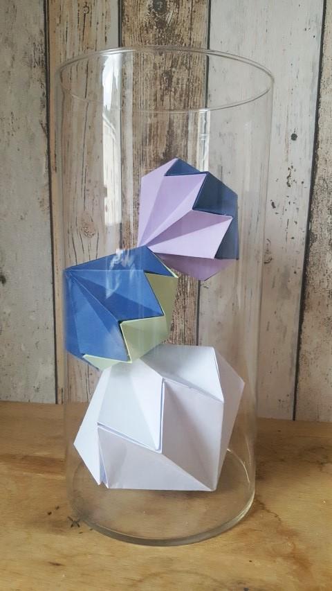 Diamant aus Papier