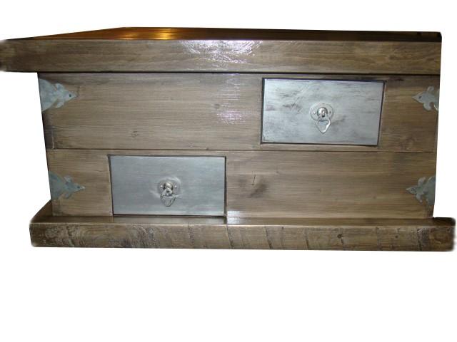 Silbergrauer Rustikaler Tisch selbstgemacht_Hand_im_Glück2