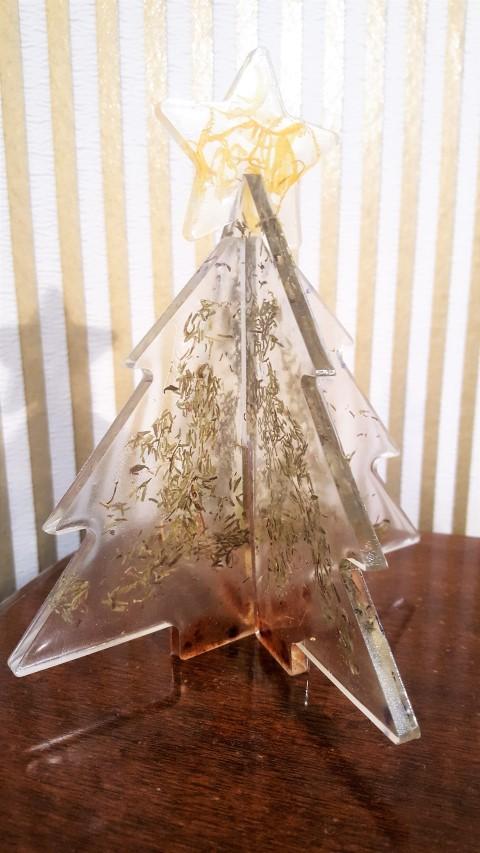 tannenbaum steckdeko aus gießharz  hand im glück