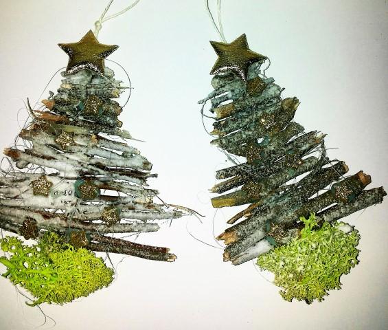 Tannenbaum aus Naturmaterial Stöckern basteln (Small)