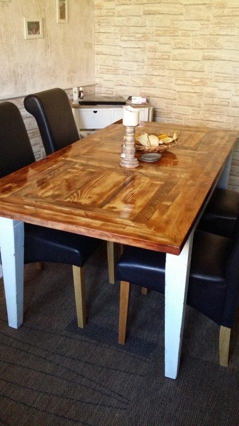 Tischplatte selbstgemacht aus Restholz_Hand_im_Glück (1) (Small)