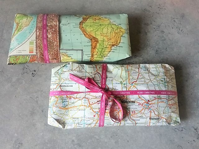Persönliches Geschenkpapier Hand im Glück Geschenk