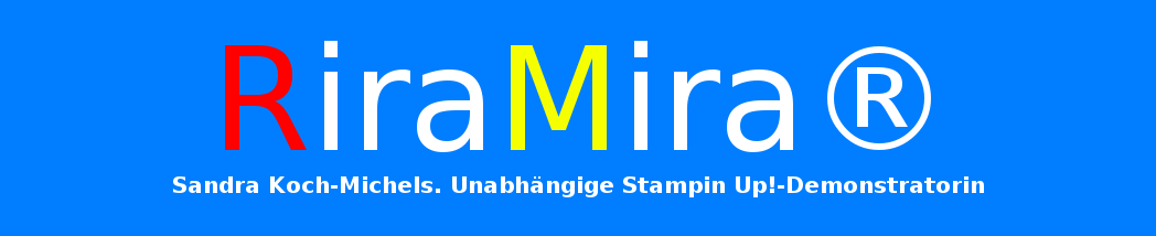 RIRA MIRA Logo Stampin Up_Hand im Glück DIY Community