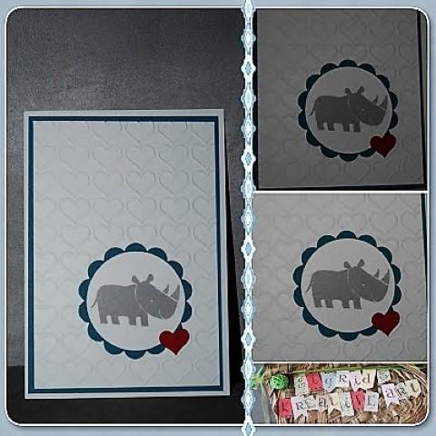 DIY Geburtstagskarte Zoo-babies-stampinup