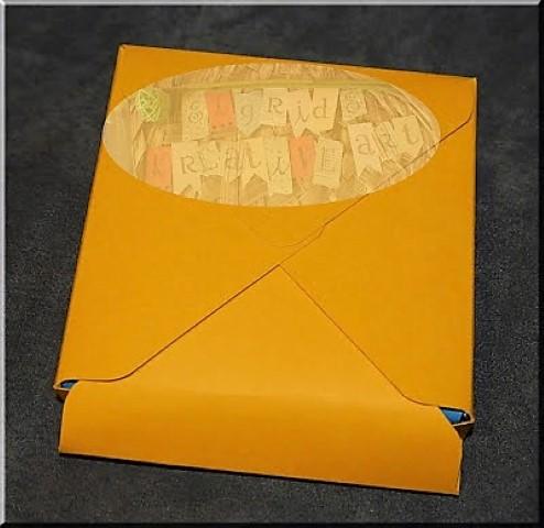 DIY Schokoladenverpackung, envelope punchboard (3)