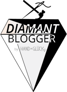 Blogger Button Hand im Glück Blogger Button Diamant klein