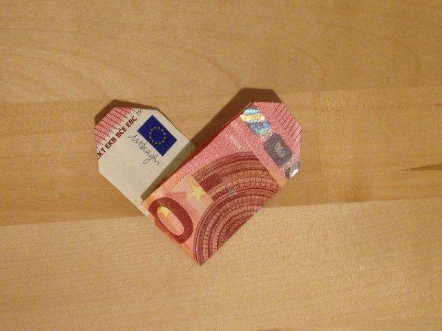Geldherz falten Geldgeschenk (7)