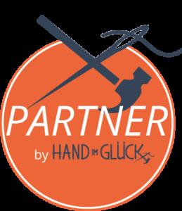 Partner Button Orange klein