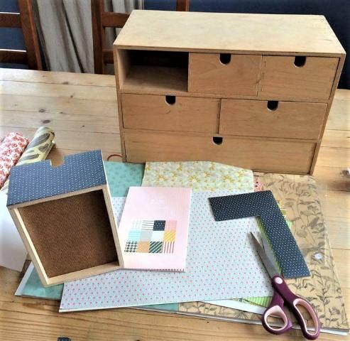 Schreibtisch Organizer aufmöbeln mit mit Papier Upcycling_hand_im_glueck (1) (Small)