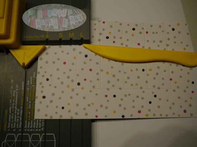 gift bag punchboard