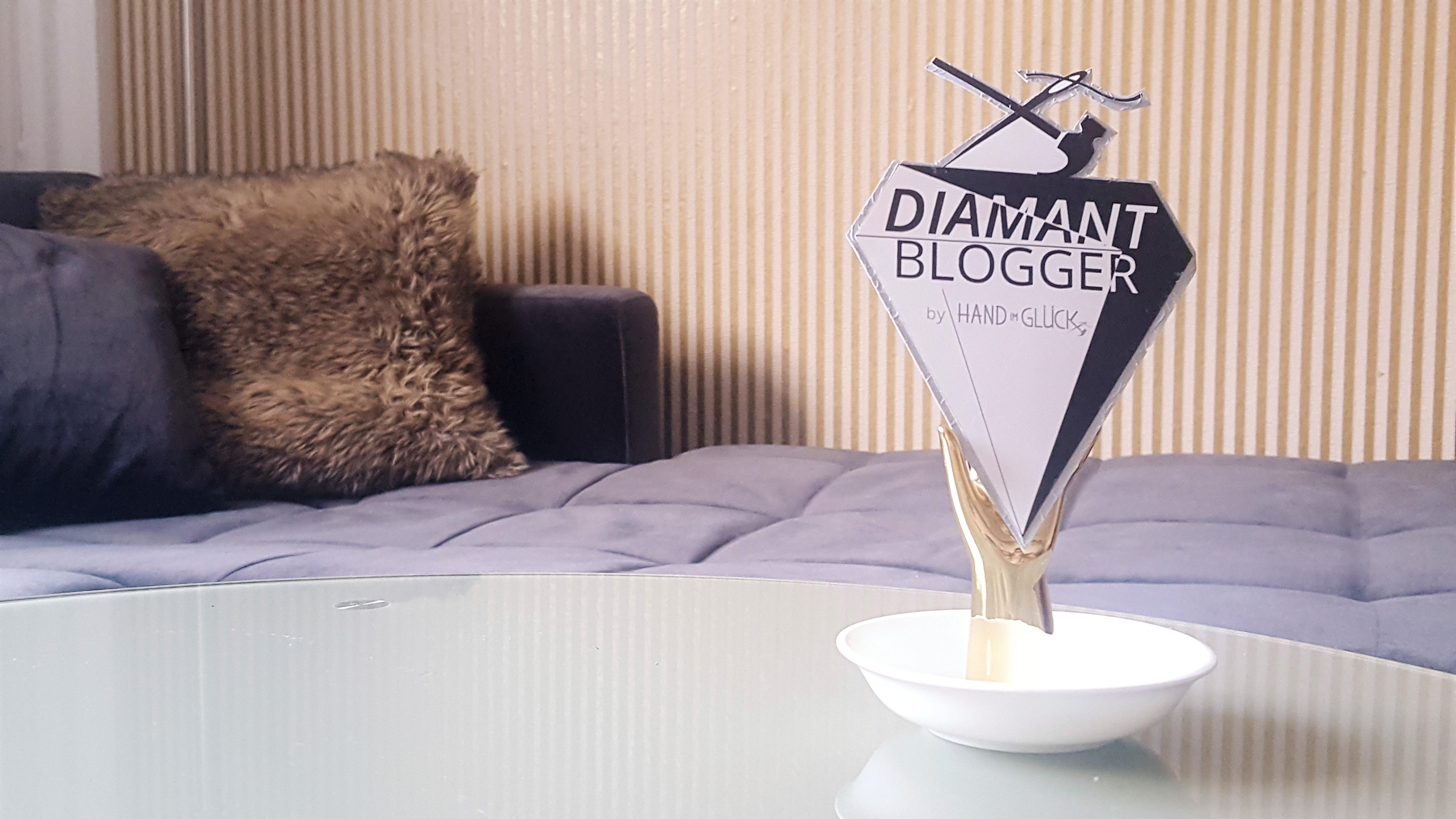 Hand im Glück DIAMANT Blogger Award