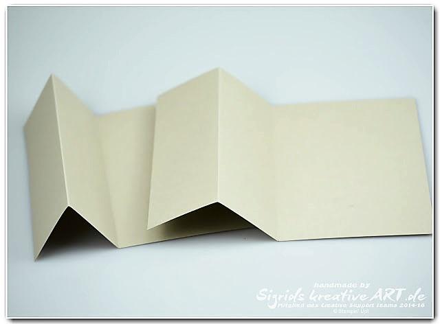 Anleitung interaktive Karte zur Hochzeit Stapin Up aus Papier Hand im Glück