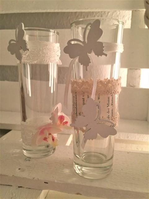 DIY Vasen und Gläser für den Frühling dekorieren (1)