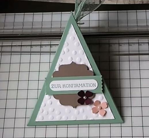 Dreiecksschachtel basteln (Small)