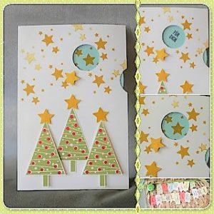 Normale anleitungen hand im gl ck diyne community - Interaktive weihnachtskarte ...