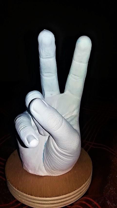 3D Hand Skulptur selber machen