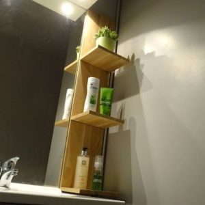 Schwebendes DIY Badezimmer Regal