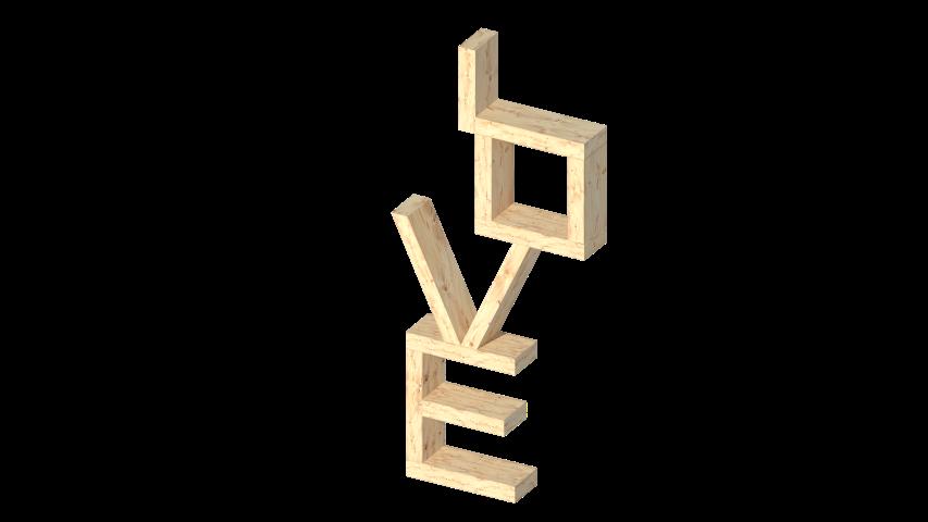 LOVE Regal Dekoration aus Holz_Hand im Glück.de_ATC (2) (Small)