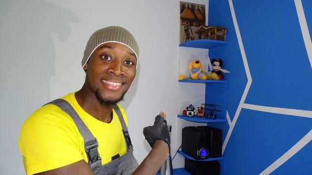 Wand Regal fürs Kinderzimmer selber bauen Hand im glueck (1)