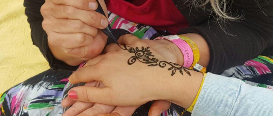 Malen mit Henna_hand im Glück.de