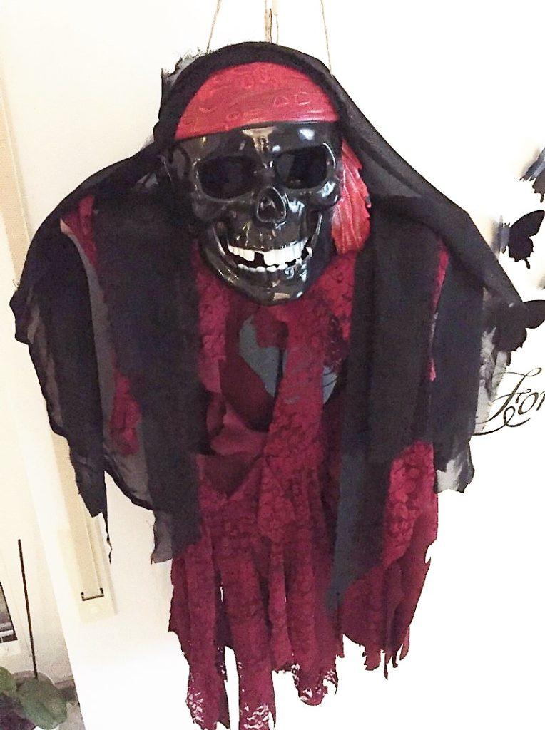Gespenst - Halloween Upcycling Deko