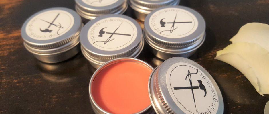 Natürliches DIY Lippgloss mit Sheabutter und Orangenöl selber machen (1)