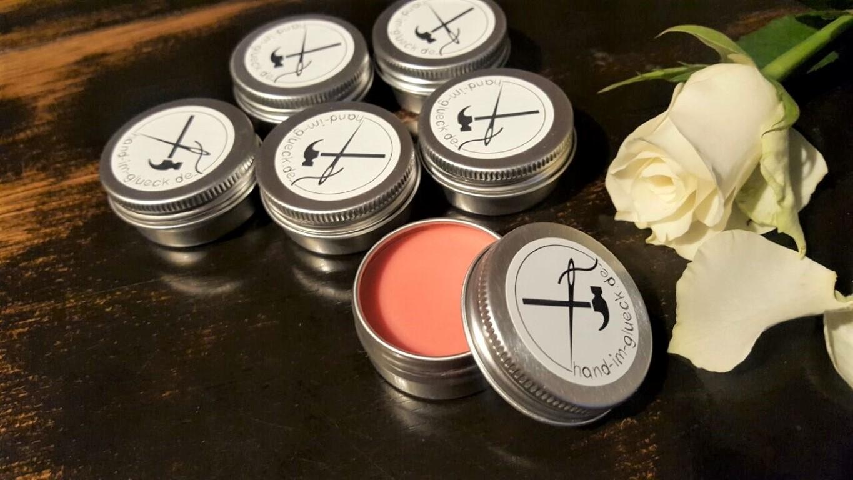 Natürliches DIY Lippgloss mit Sheabutter und Orangenöl selber machen (2)