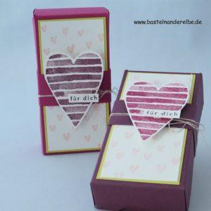 Taschentuch Verpackung aus Papier selbermachen
