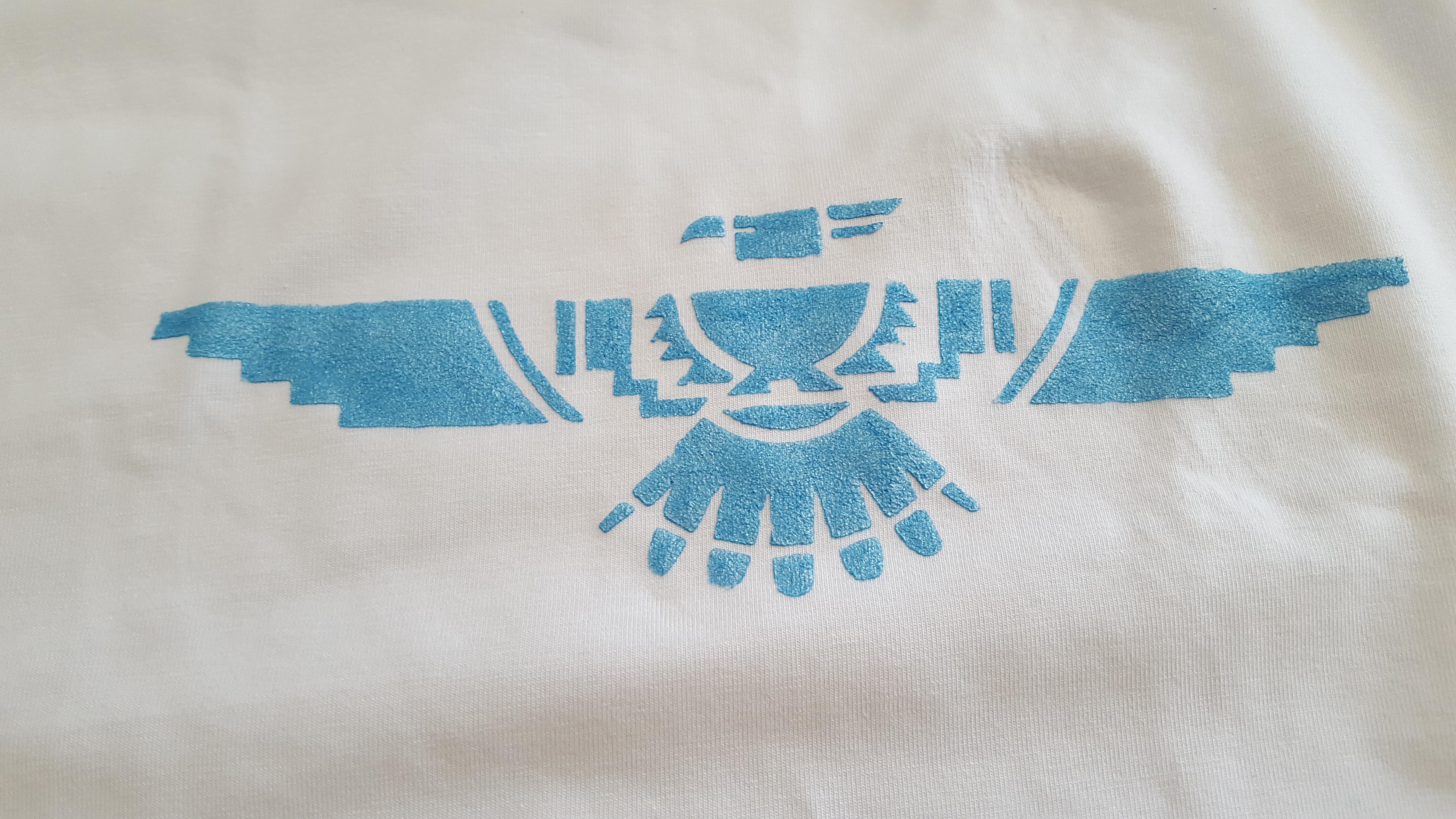 Shirt mit Schablone selber bedrucken4_hand-im-glueck.de