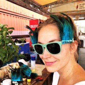 Festival-Sonnenbrille gestalten / Upcycling